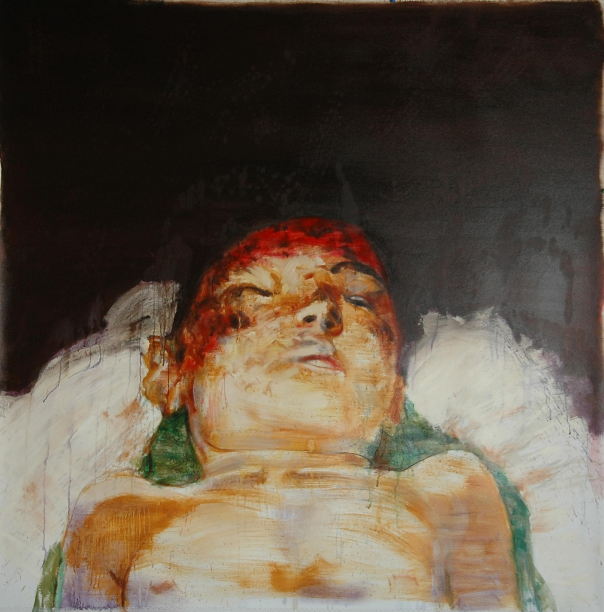 Untitled, 127 x 127 cm, oil on canvas